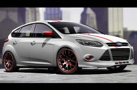 Ford ������� �� �������� SEMA 7 ����� Focus