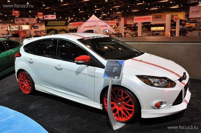 SEMA 2011 Ford Focus III Concept.