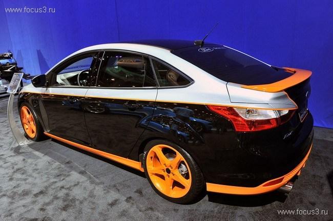 SEMA 2011: Ford Focus III Concept