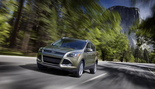 Первые фотографии нового Ford Escape