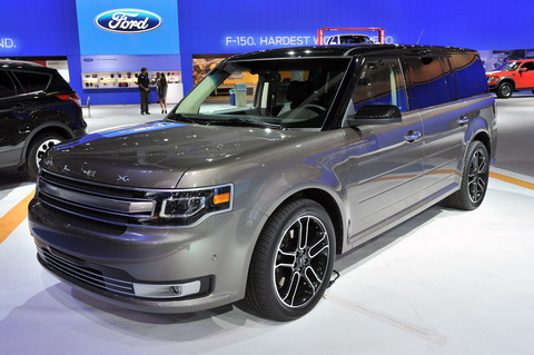 Los Angles 2011: Ford Flex