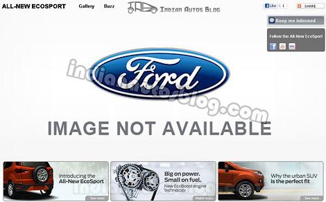 Первые изображения маленького кроссовера Ford
