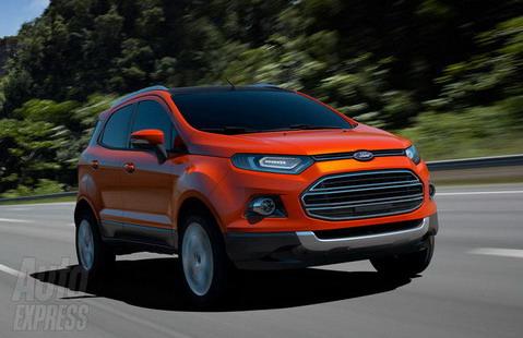 Ford рассекретил кроссовер EcoSport SUV