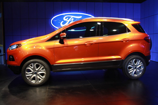Ford EcoSport на выставке AutoExpo в Дели