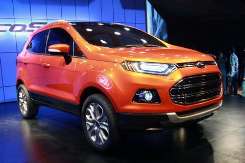 Ford EcoSport �� �������� AutoExpo � ����