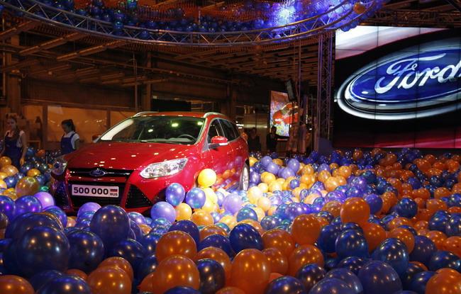 Ford выпустил 500 000-й автомобиль в России