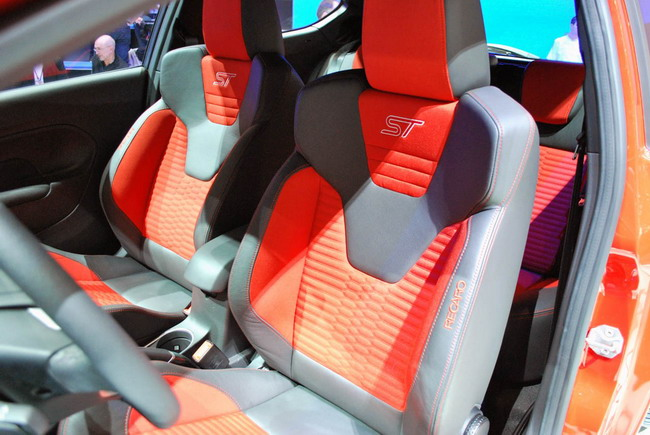Официальная презентация Ford Fiesta ST в Женеве