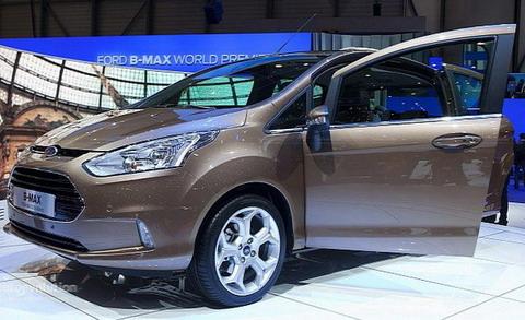 Стала известна стоимость нового Ford B-MAX
