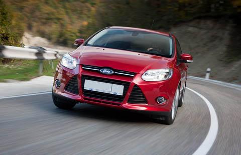 Результаты продаж Ford в первом квартале 2012 года