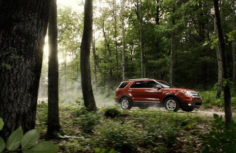 Весенне-летняя кампания Ford 2012