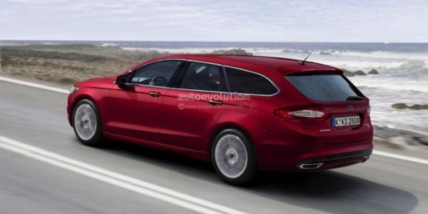 Дизайн Ford Fusion / Ford Mondeo Wagon