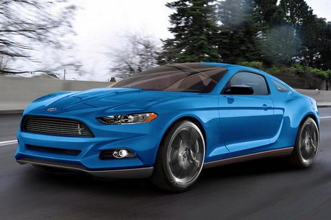 Новые автомобили: Ford Mustang 2015