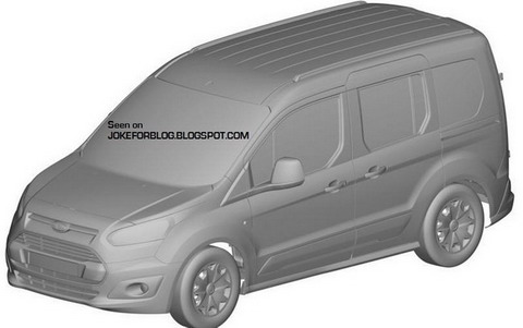 ������ ����������� ������ Ford Transit Connect
