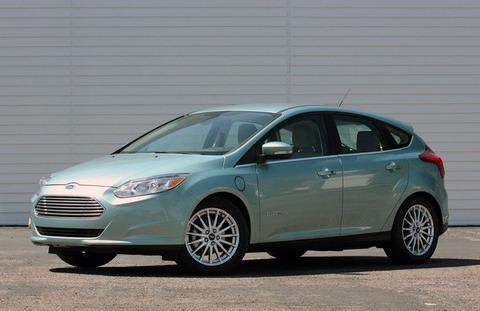 Первые Ford Focus Electric на пути к дилерам