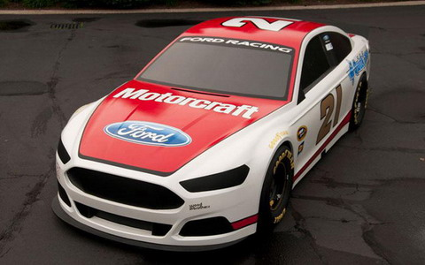 Ford Racing представляет Fusion 2013 Motorcraft