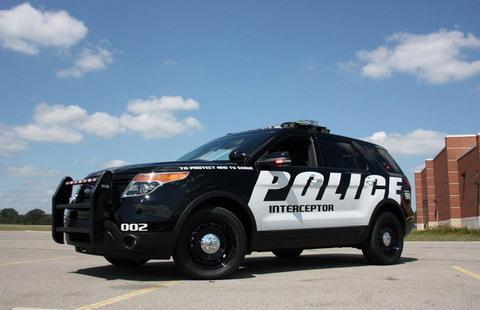 Полицейский перехватчик Ford Explorer