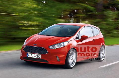 Новый дизайн Ford Fiesta