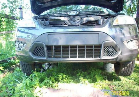 FF2 2008 Замена нижней решетки радиатора