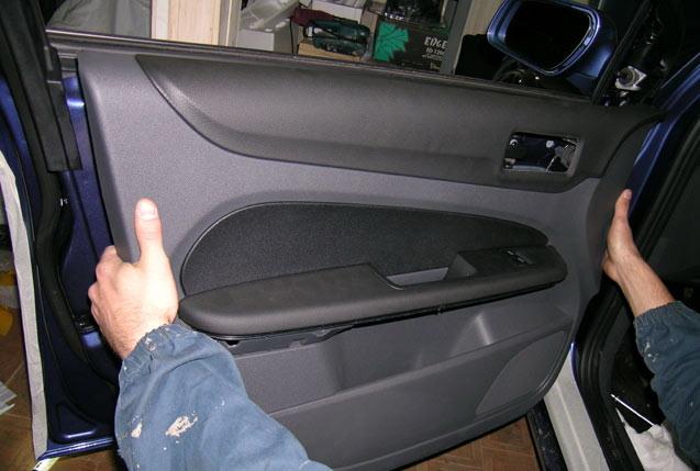 FF2 2008 Снятие обшивки дверей