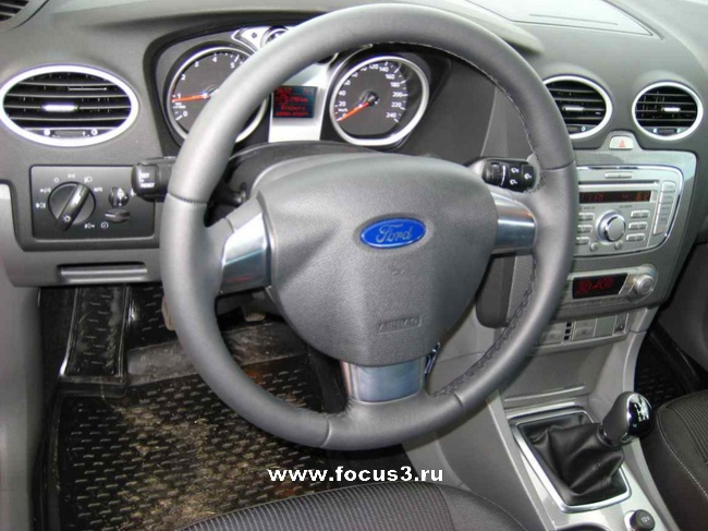 FF2 2008 Варианты руля на Форд Фокус 2