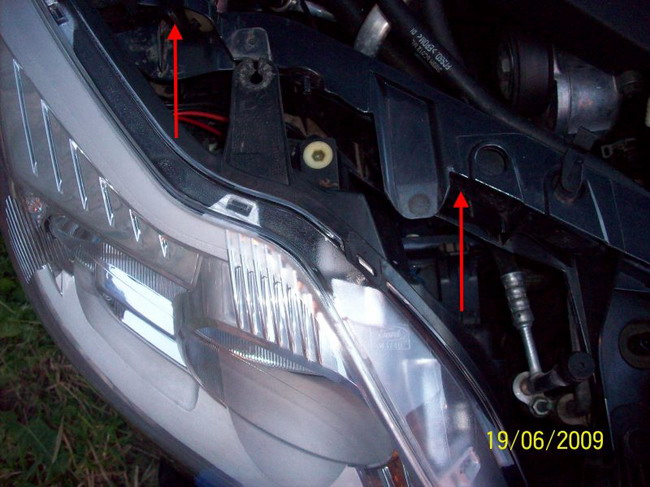 Замена фар на форд фокус 1