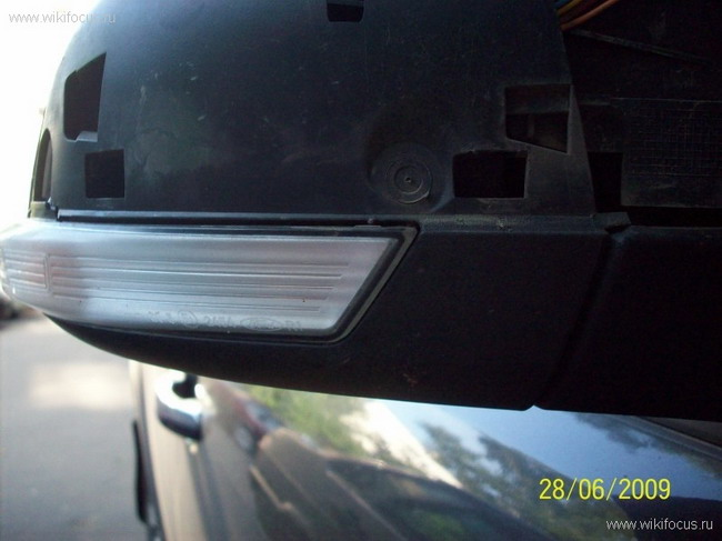 FF2 2008 Замена лампы поворотника в зеркале