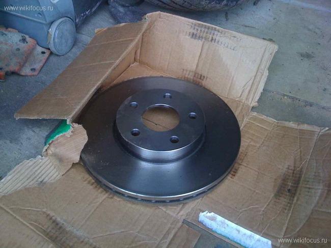 FF2 2008 Замена тормозных дисков