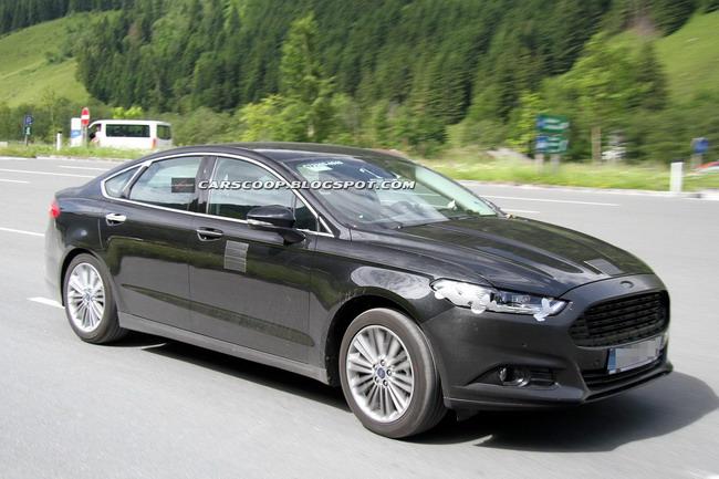 Новый Ford Mondeo проходит испытания в Альпах