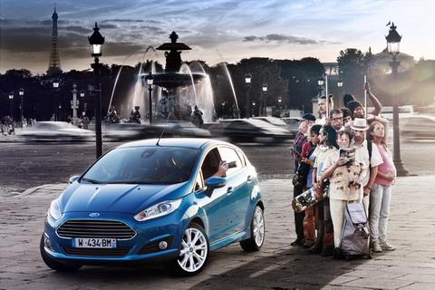 Обновленную Ford Fiesta показали в Амстердаме