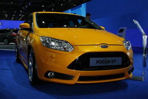Ford Focus ST 2013 на Московском Автосалоне