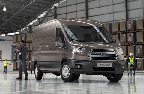 Официальный релиз Ford Transit 2014
