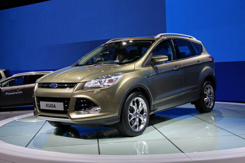 ММАС 2012: Новая Ford Kuga