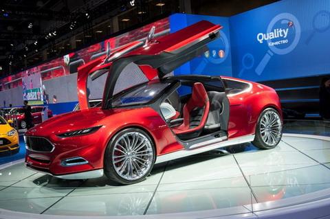 ММАС 2012: Концепт Ford Evos