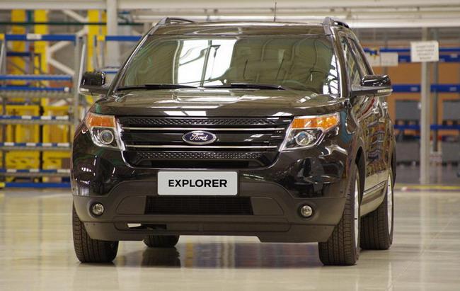 На заводе Ford Sollers произведен десятитысячный автомобиль