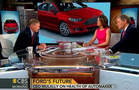 Муллали говорит, что он не уйдет из Ford в ближайшее время