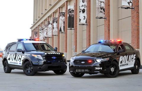 Ford протестировал полицейские перехватчики