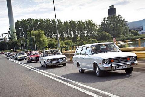 Форд празднует 50-летие Cortina с BBC