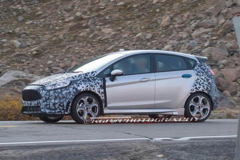Ford Fiesta ST пойман во время тестов в штате Колорадо