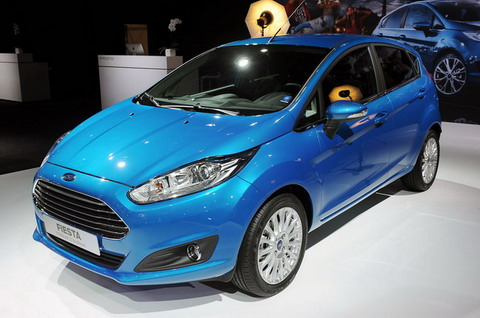 Ford Fiesta 2013 представлена в Париже