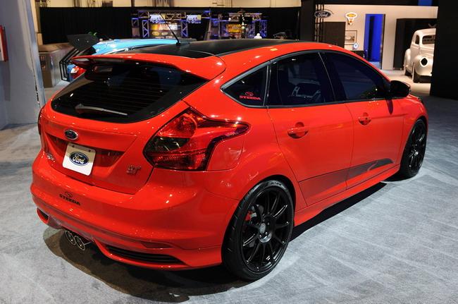 SEMA 2012: Ford Focus ST на автошоу в Лас-Вегасе