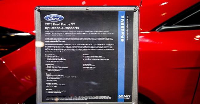 SEMA 2012: Ford Focus ST от Steeda Autosports