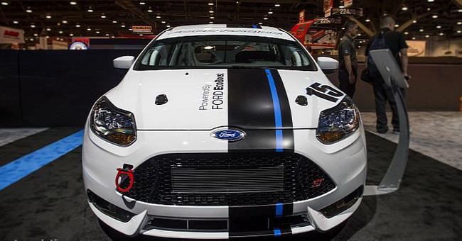 SEMA 2012: Ford Focus ST-R