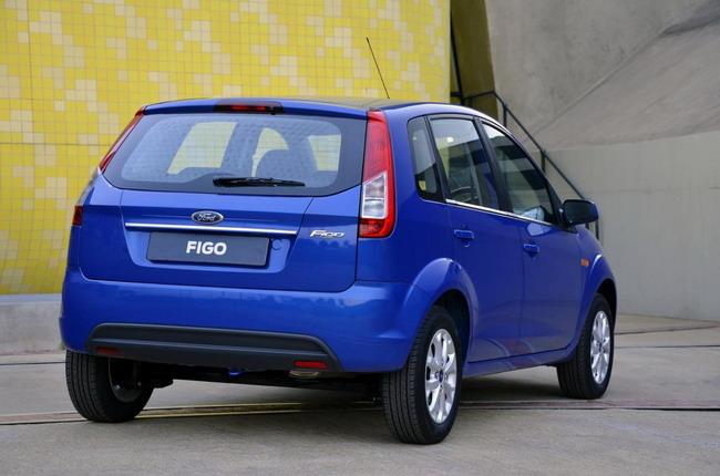 Обновленный Ford Figo показали в Южной Африке