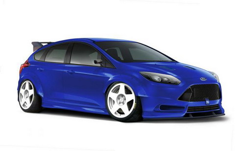 ����� ���������� � Ford Focus RS