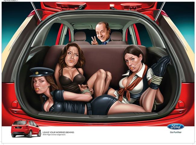 Ford Figo в Индии наполнили знаменитостями