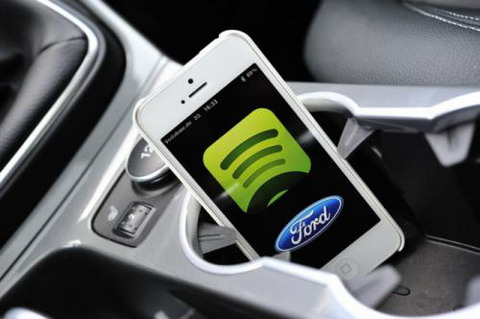 Spotify ������ �������� ��� ����������� Ford c SYNC AppLink