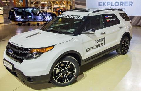 Ford ������� �� ������������ Ford Explorer �� ���������� ������� �����