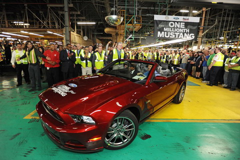 �� ������ ����-��� ������� �������������� Ford Mustang