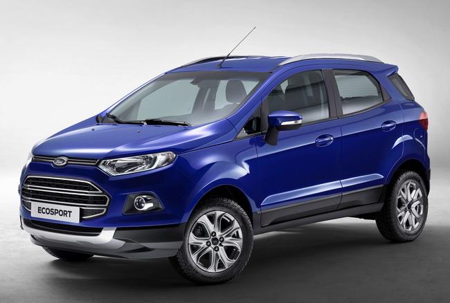 Производство кроссовера Ford EcoSport в России начнется в 2014 году