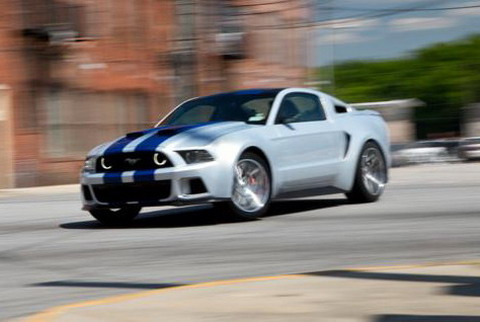 Ford Mustang �������� � ������ �� ������� ���� Need for Speed